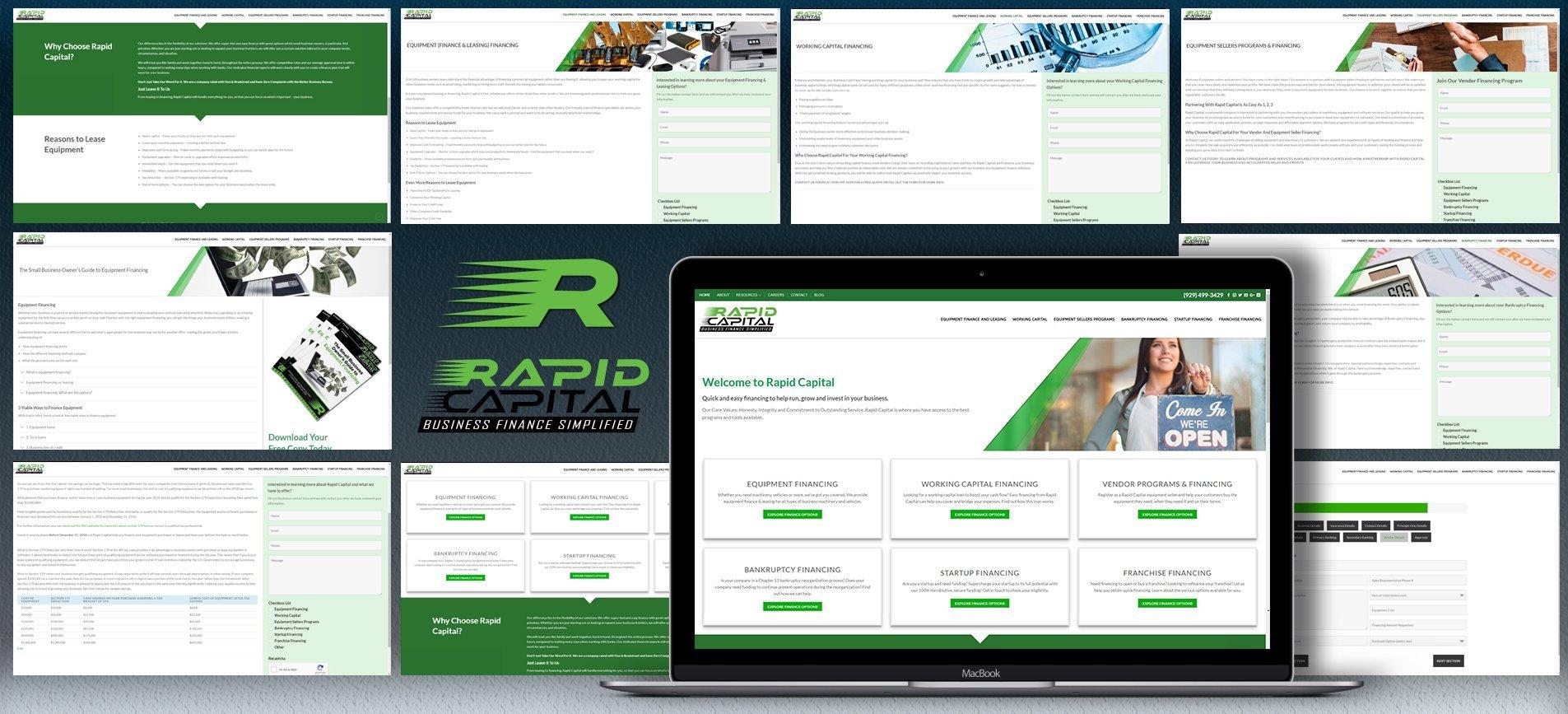 Rapid cpaital Website